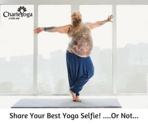 Share Your Best Yoga Selfie